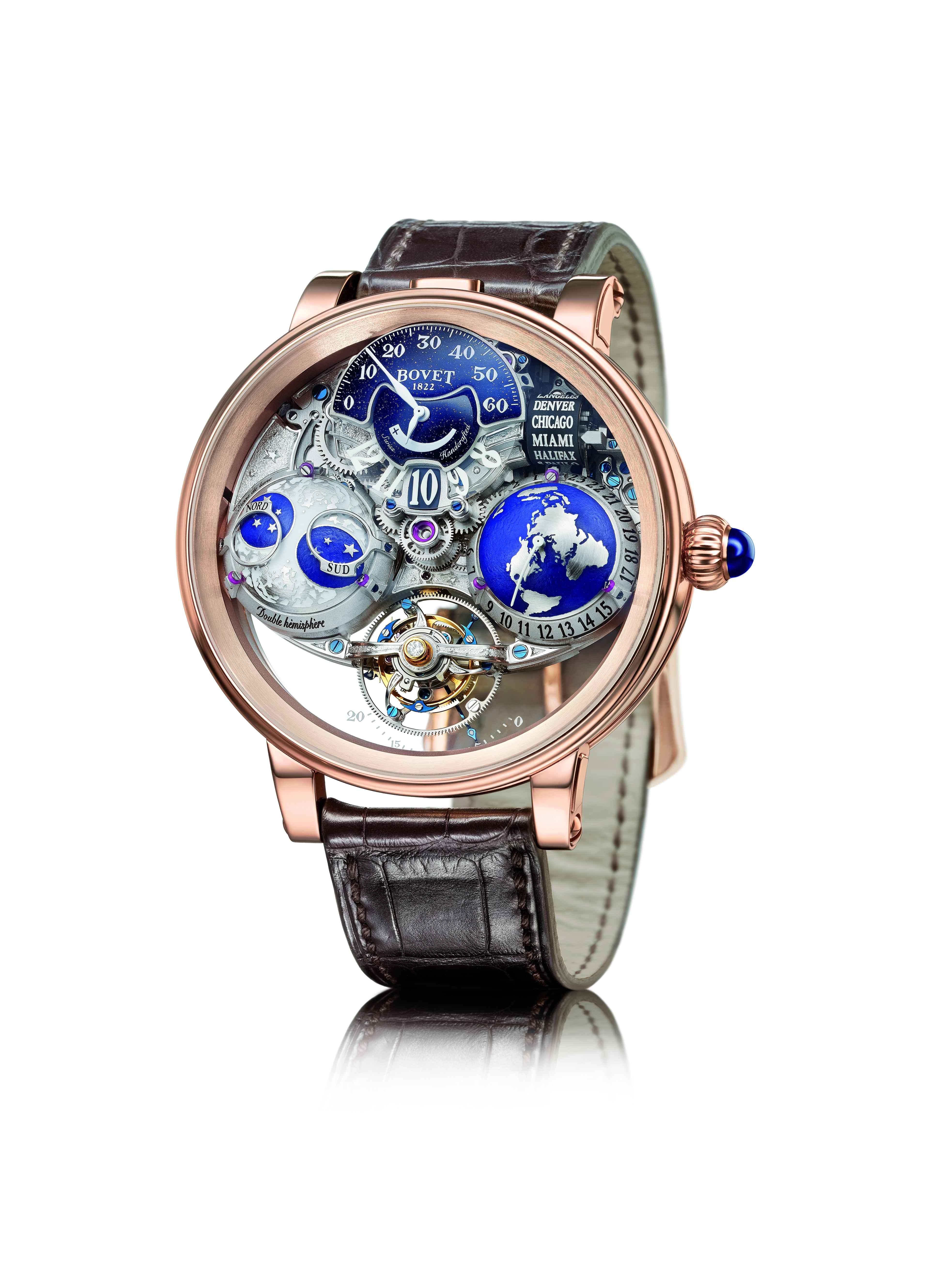 World-timer watches allow eight ways to see the globe | South China