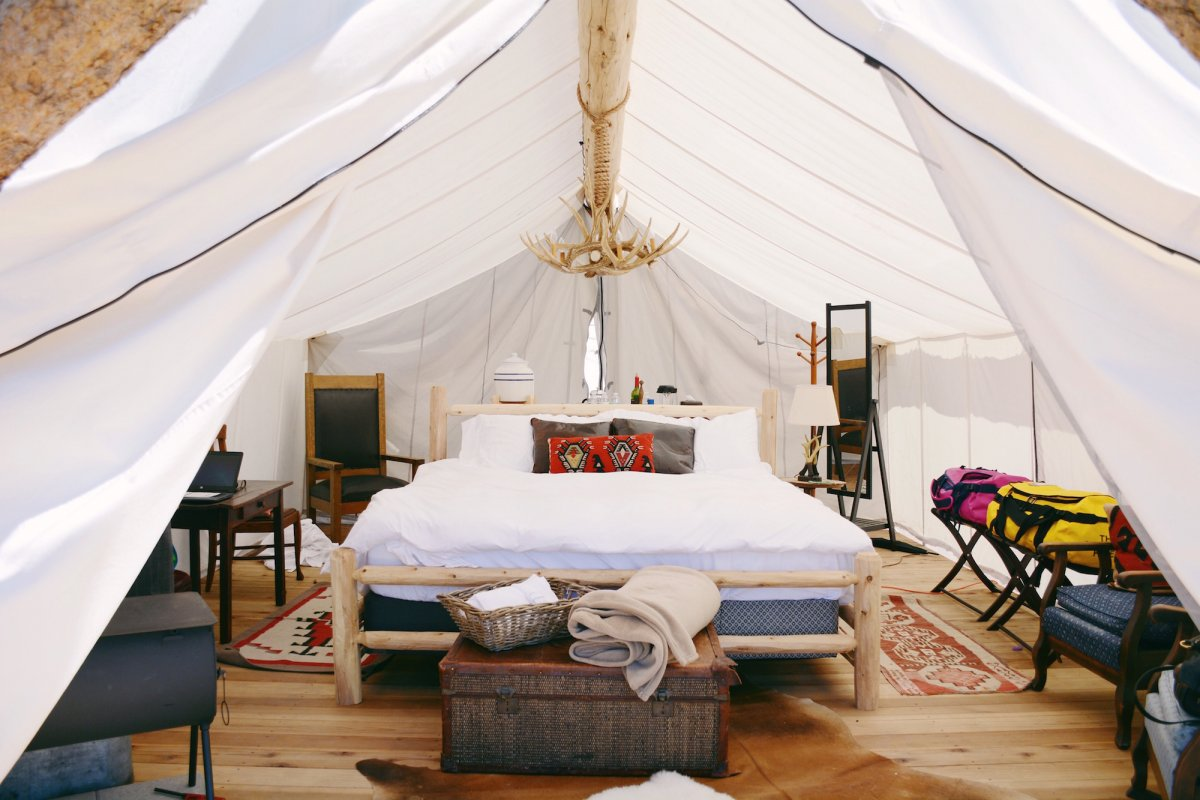 Are Luxury Camping Or Glamping Retreats The Future
