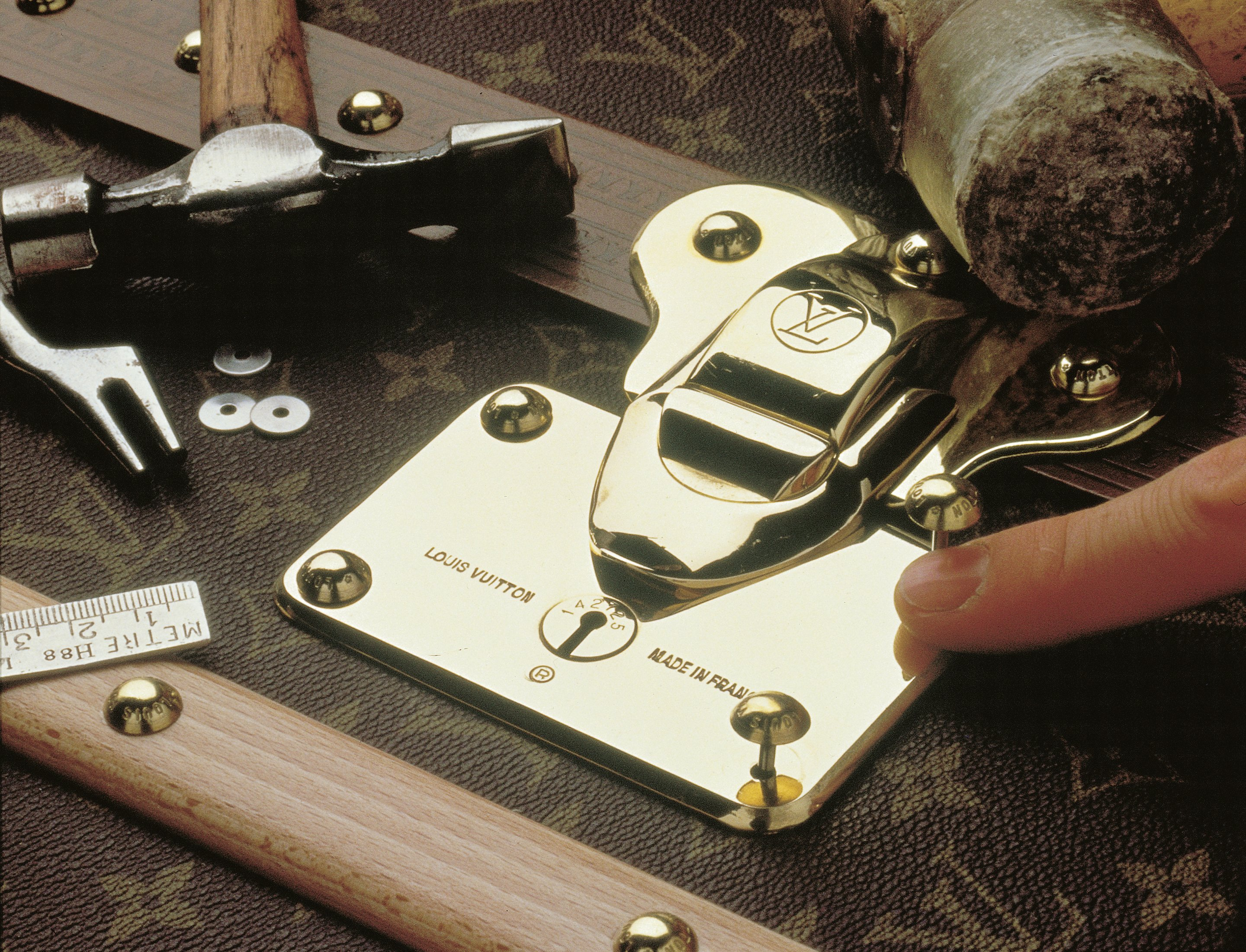 f7041e744d7d How Louis Vuitton s iconic trunk is made