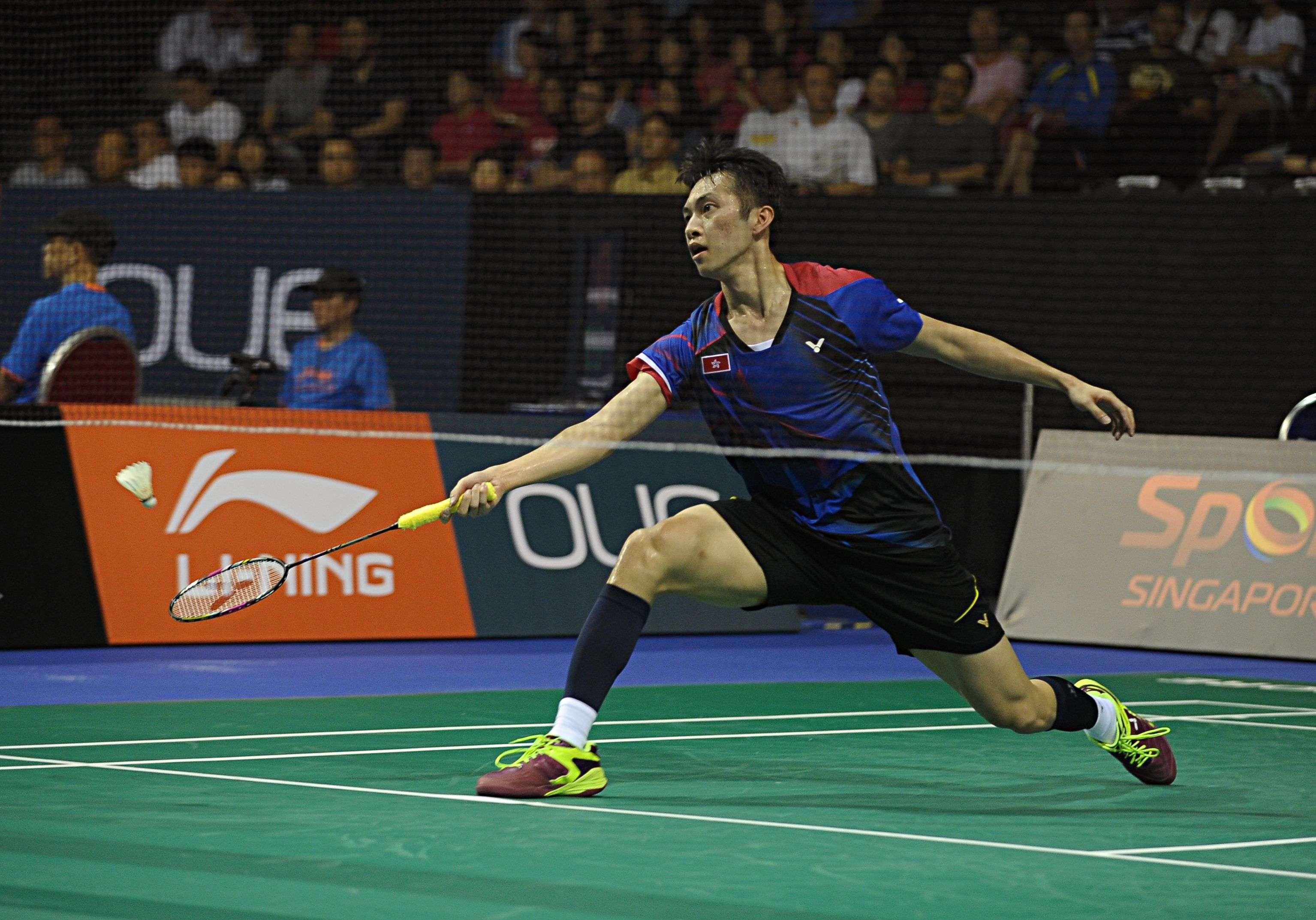 Hong Kong s Ng Ka long beats badminton world No 1 Chen Long in