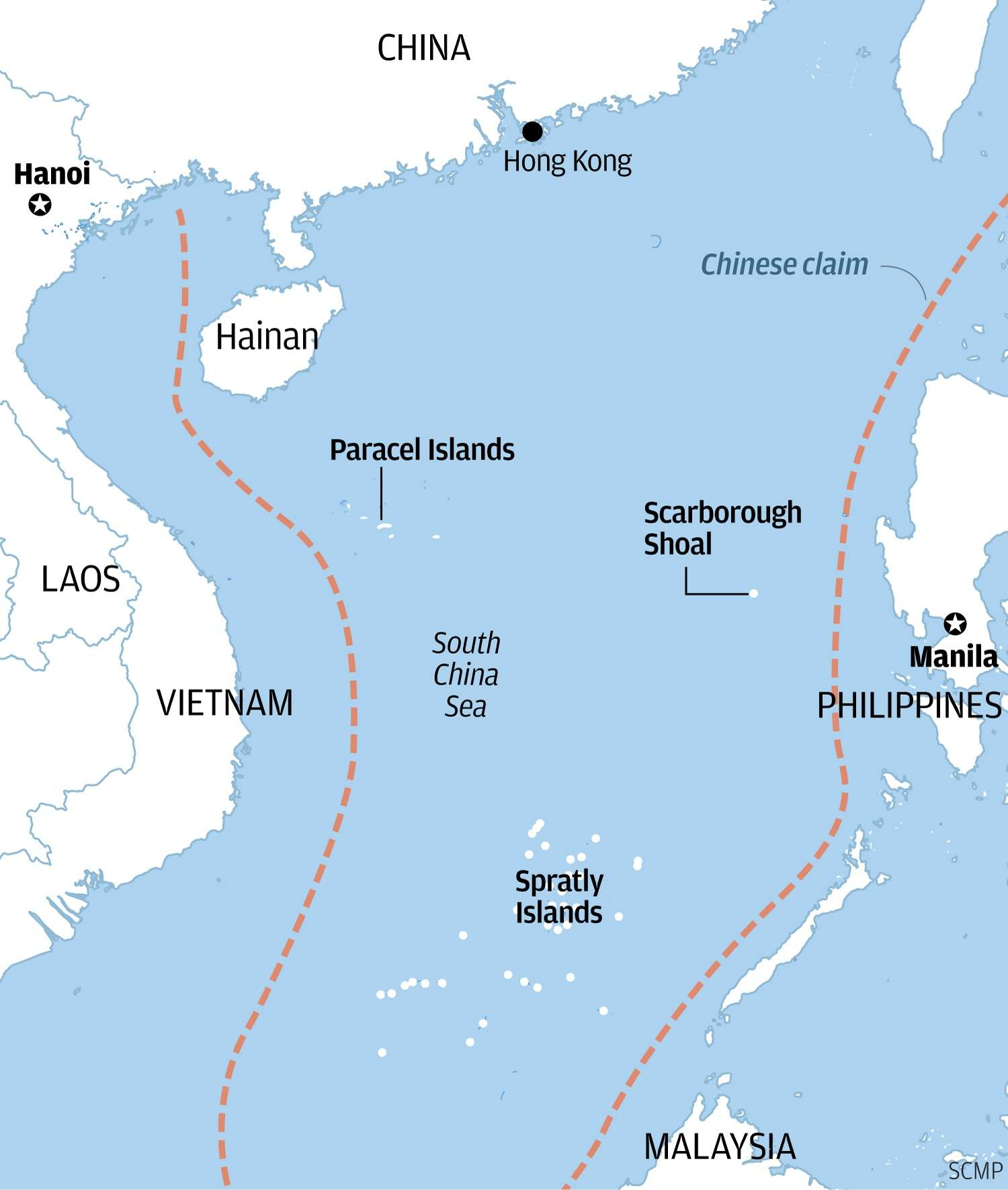 Beijing rejects tribunal's ruling in South China Sea case