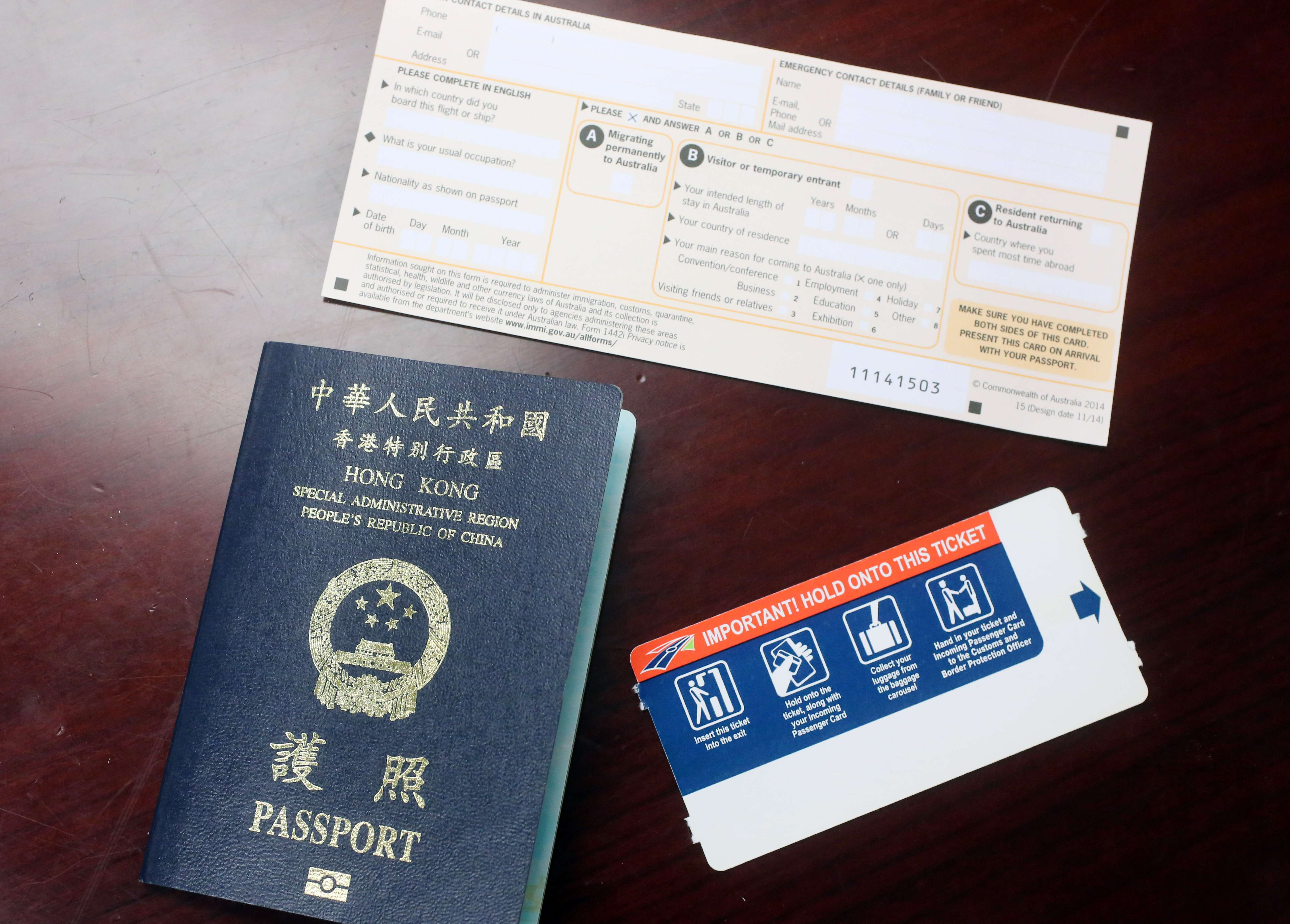 hongkongers visiting australia now eligible for automated