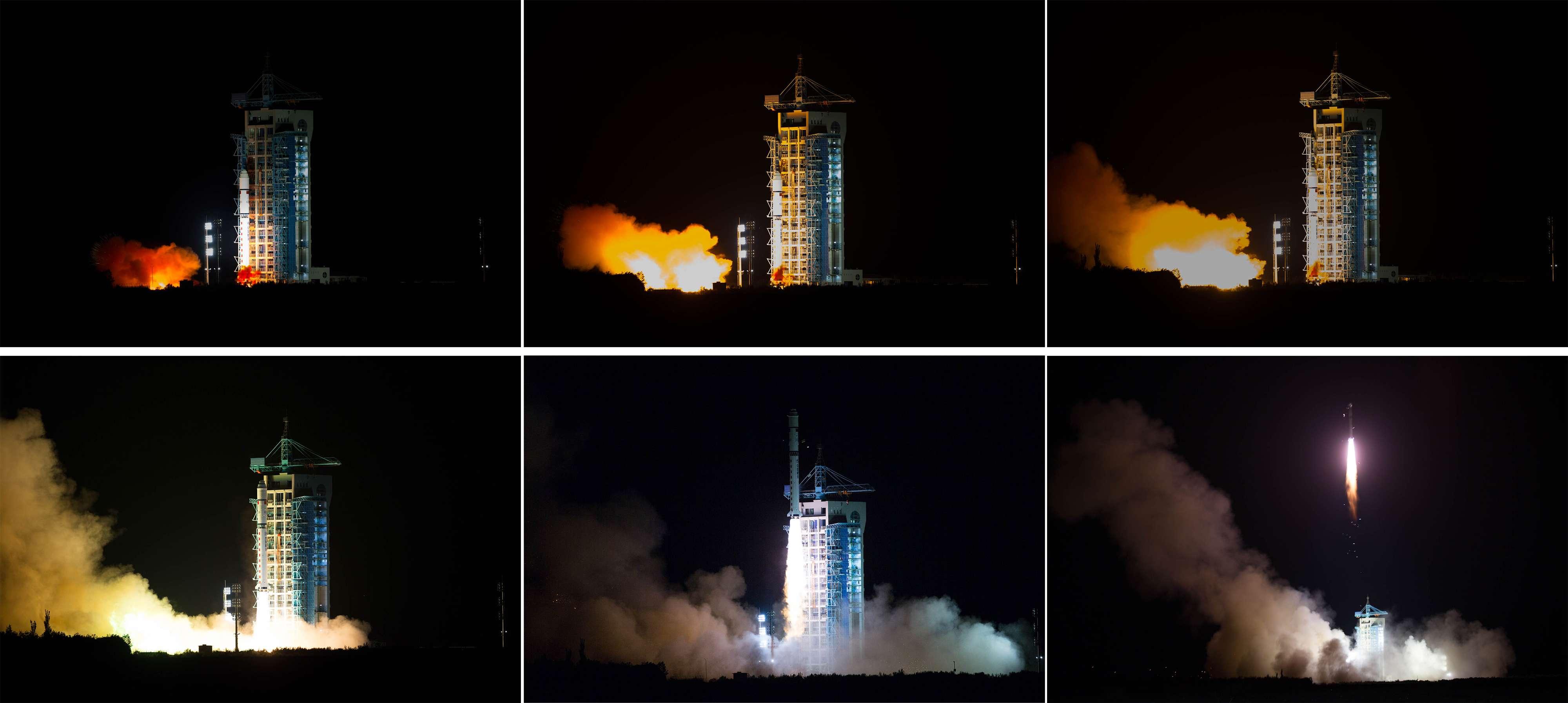 China Launching Quantum Space-Based Satellite