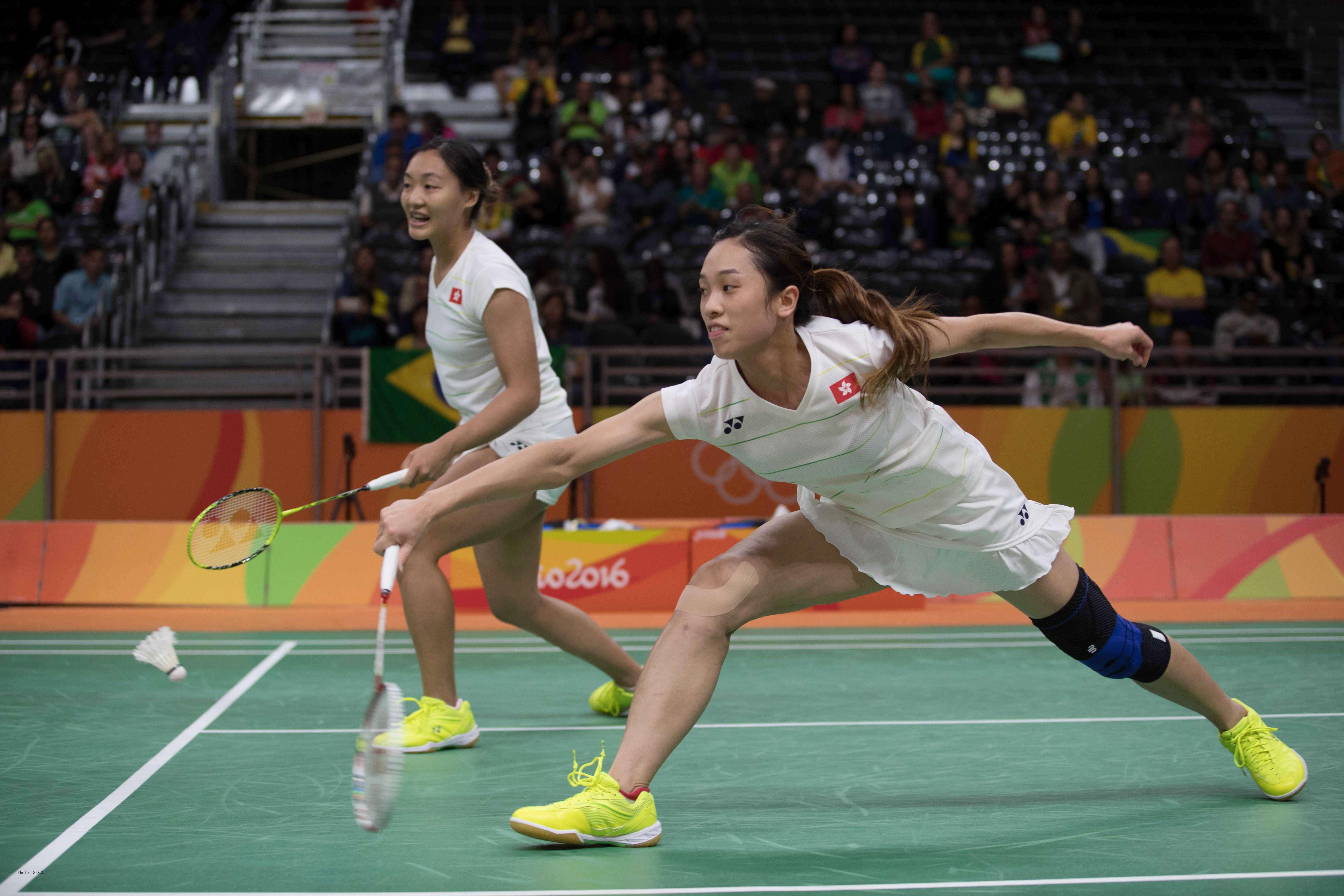 New Hong Kong mixed doubles pair Tang Chun man and Tse Ying suet