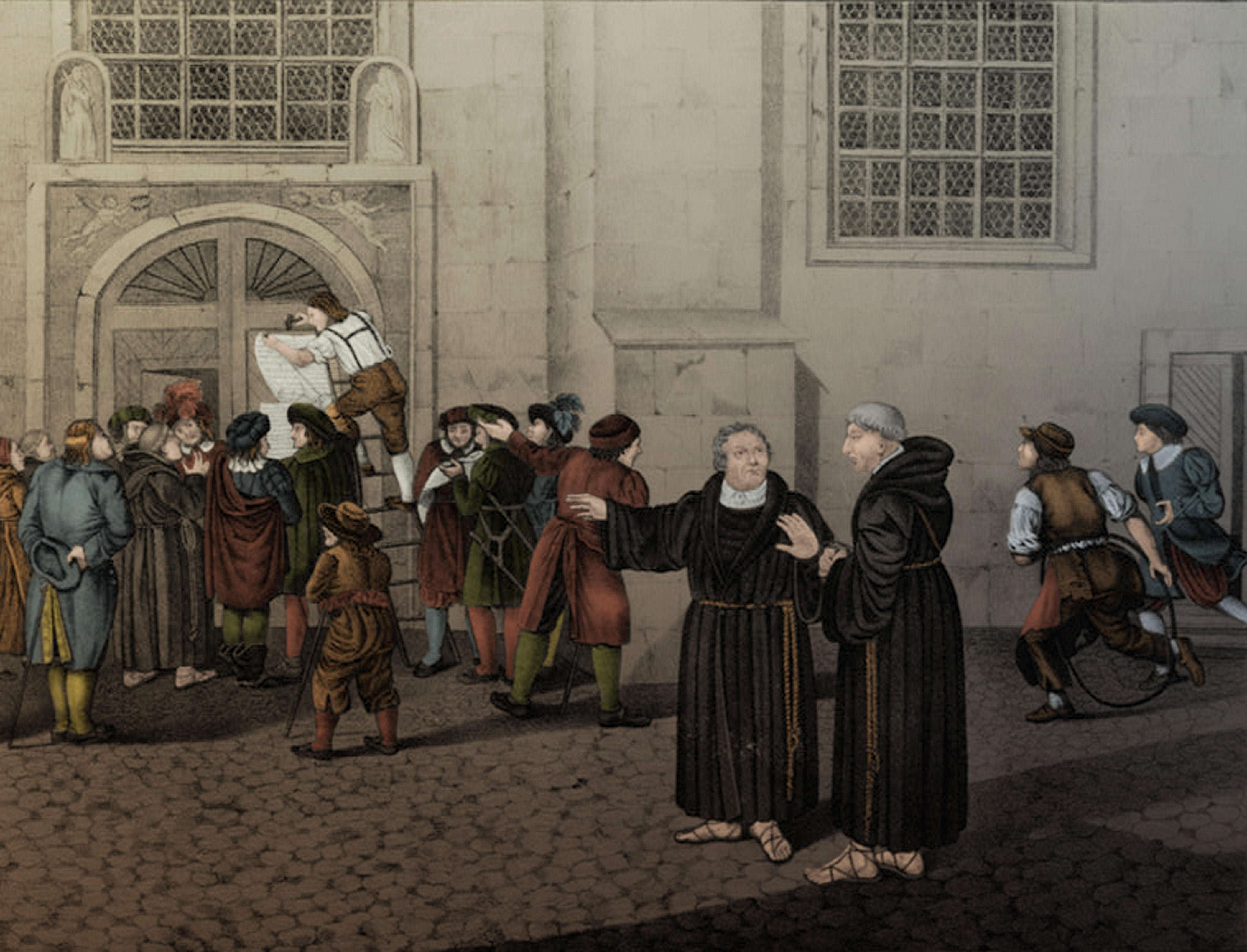 When was the 95 theses written