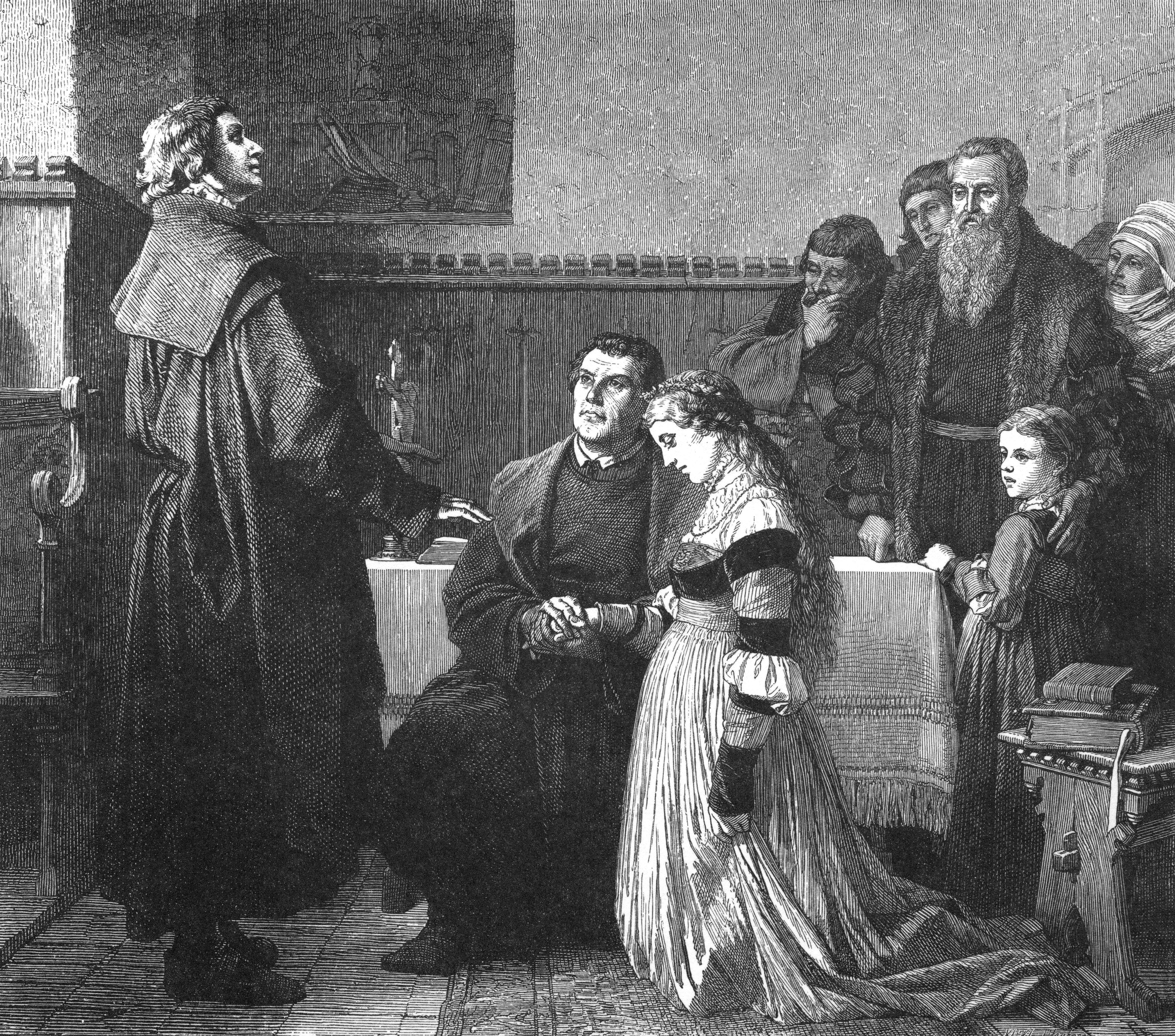 Wedding Altar Cation: A Tour Of Martin Luther's Medieval Germany