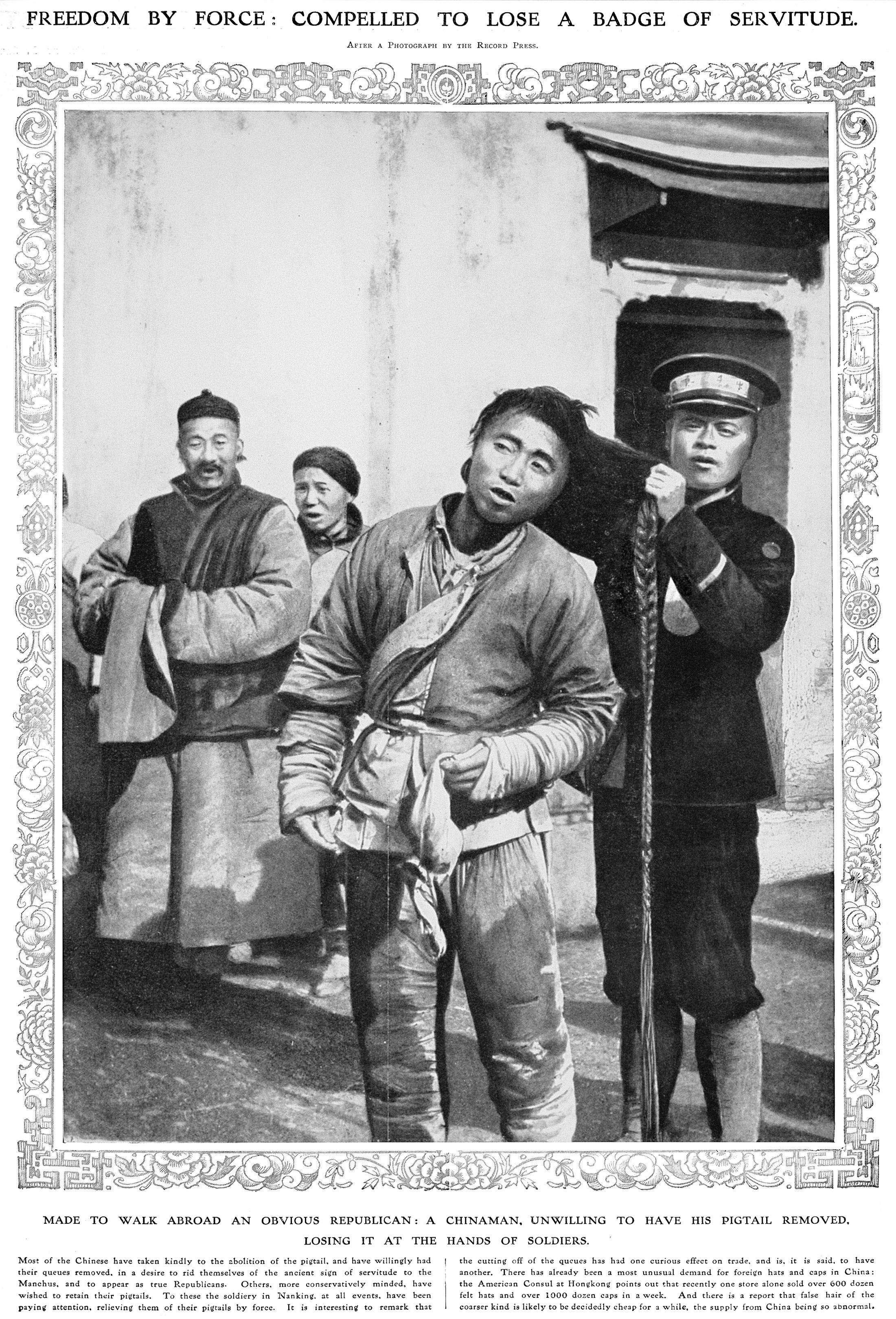 Miraculous What Qing Era Han Manchu Ethnic Clash Has In Common With Hong Kong Short Hairstyles Gunalazisus