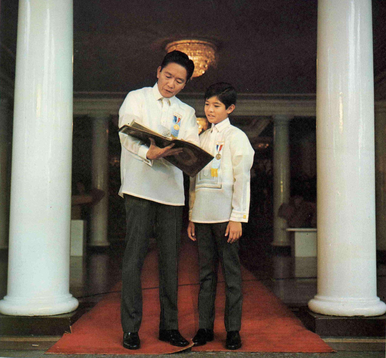 Bongbong Marcos, son of a Philippine tyrant: Born lucky