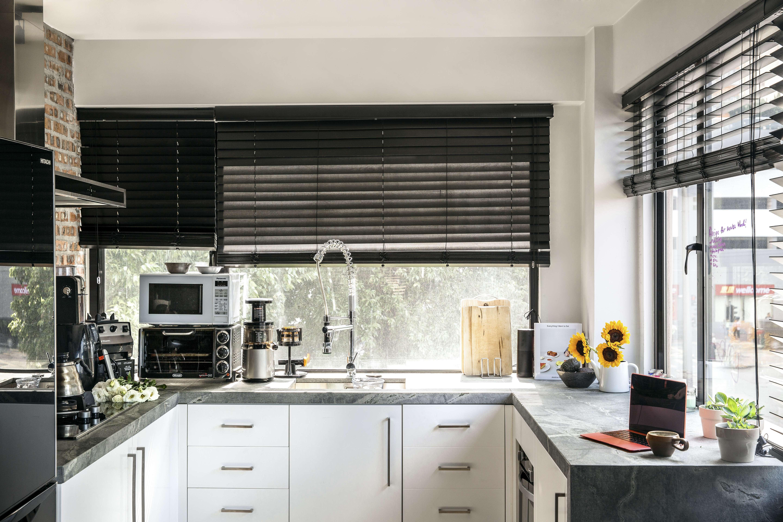 hong kong family's one-bedroom home makes for open-plan living