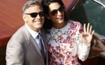 George Clooney and his wife Amal Alamuddin