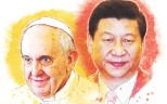 Pope Francis and President Xi Jinping