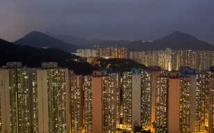 The more developed housing market in Tseung Kwan O is expected to help boost the allure of the Lohas Park site. Photo: Bloomberg