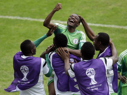 97a86a14b Argentina s Lionel Messi  from Jupiter  says Nigeria coach as both sides  reach last 16