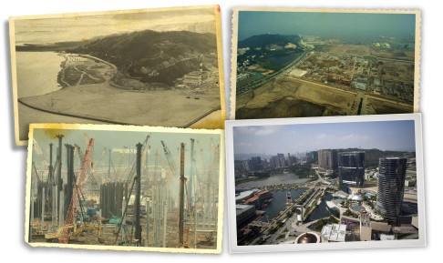 e2e559ada778 Growth of gambling in Macau is captured (clockwise from top left) in two  aerial