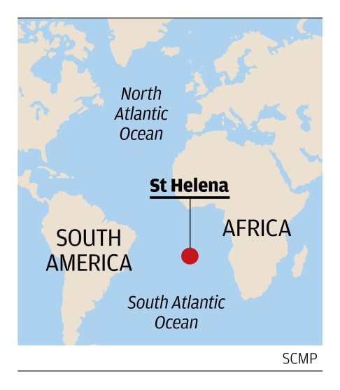St Helena On World Map.Last Days For Ship That Links St Helena To The World South China
