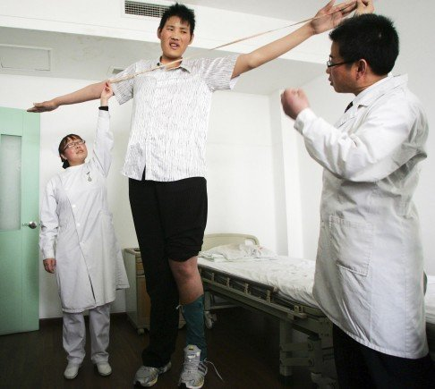 Better nutrition has made Chinese taller - and fatter