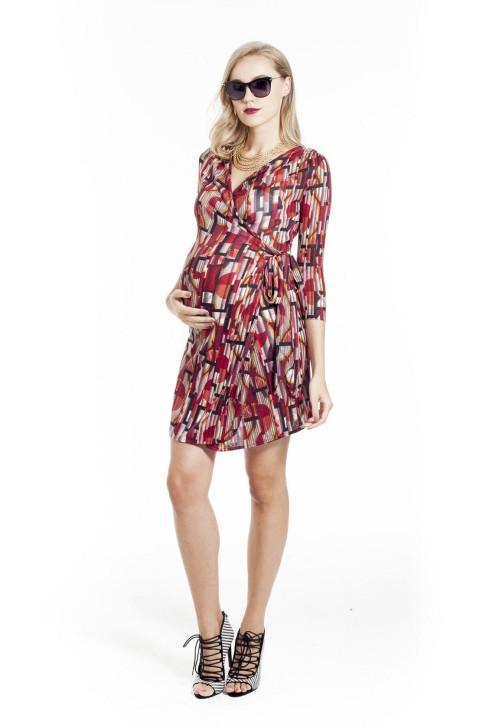fed3cdf10c1175 Mayarya geometric print dress (HK 1