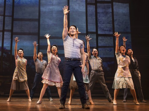 Asians on broadway