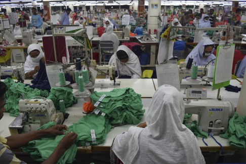 Workers At The Viyellatex Factory In Dhaka, Bangladesh, Produce Clothes For  Marks U0026 Spencer. Photos: Red Door News Hong Kong; AFP; Reuters; Xinhua