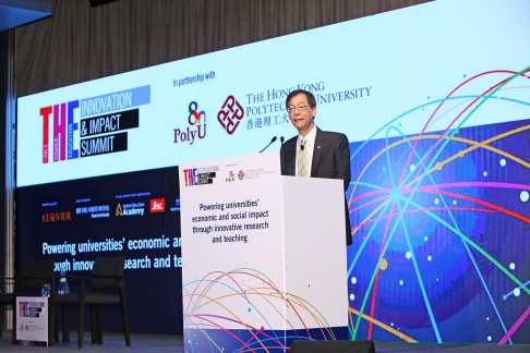 Live Report: PolyU – THE Innovation & Impact Summit - Conference Day