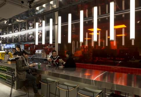 Mcdonalds Interior Design fast food outlets in hong kong woo customers with interior design
