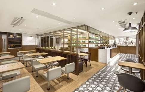 Interior Of Cafe De Coral Harbour City Tsim Sha Tsui Photo Courtesy Bling Studios Hong Kongs