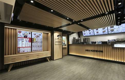 Fast food outlets in Hong Kong woo customers with interior design ...