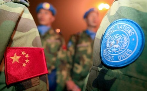 China will send 700 troops to South Sudan as part of a UN peacekeeping mission to protect essential infrastructure. Photo: AFP
