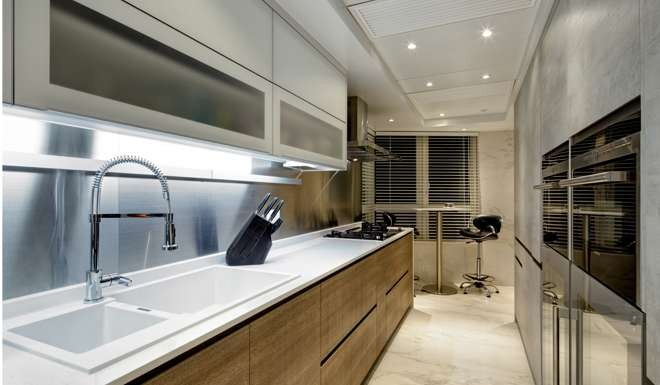 Kitchen The Kitchen, Including All Cabinets And Appliances, Cost HK$430,000,  Supplied By Famous Kitchen (Tsuen Wan Plaza, 4 Tai Pa Street, Tsuen Wan, ...