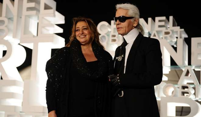 Zaha Hadid Style from david bowie to carrie fisher: style icons the fashion world