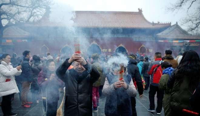Image result for Lunar New Year fireworks spark a return to hazardous Beijing pollution