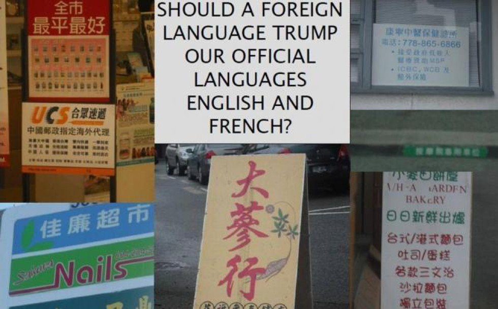Image result for too many Chinese in Vancouver