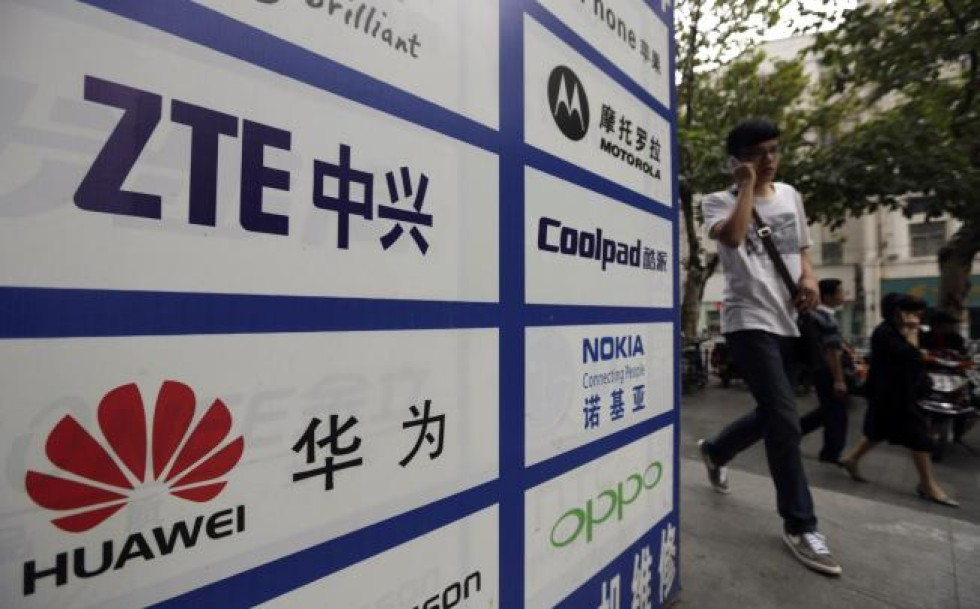 ZTE wins patent case against Huawei
