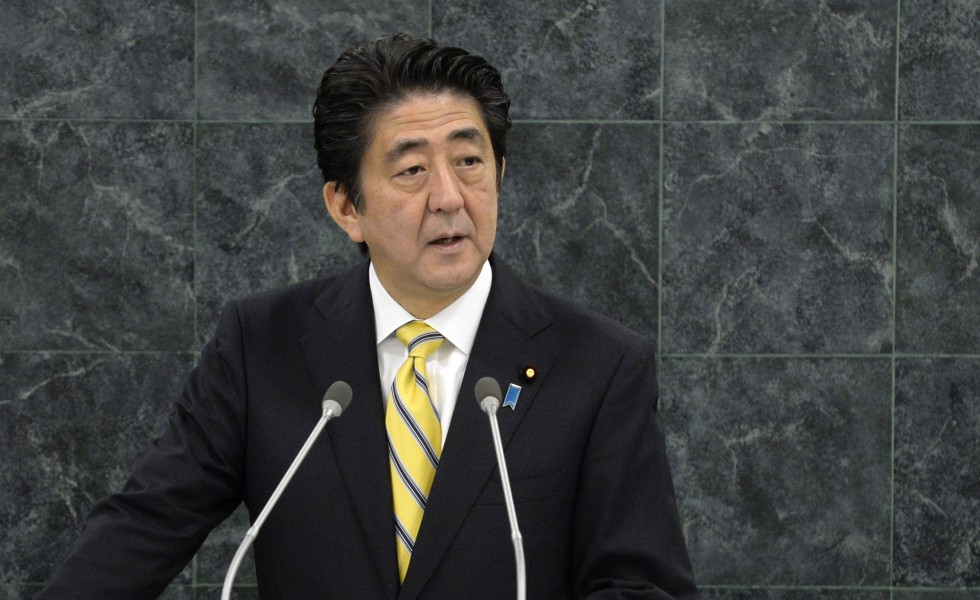 Conference of Zumbrota on SECURS-UPS Relations Shinzo_abe