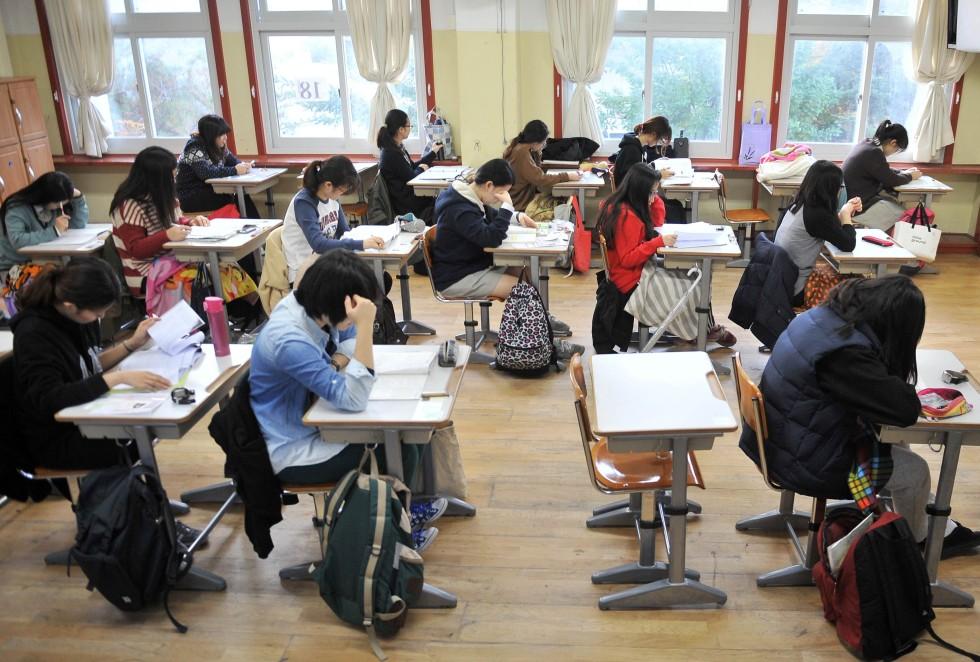 high schools in south korea