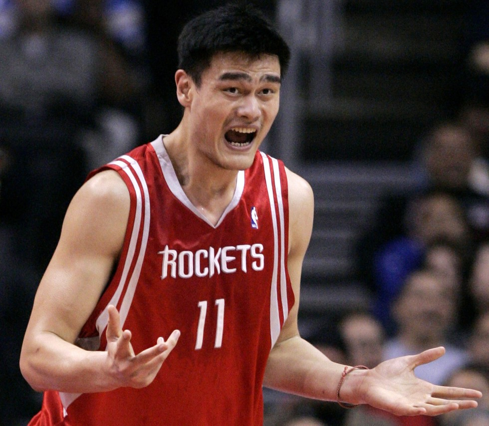 Yao Ming  who was an N...