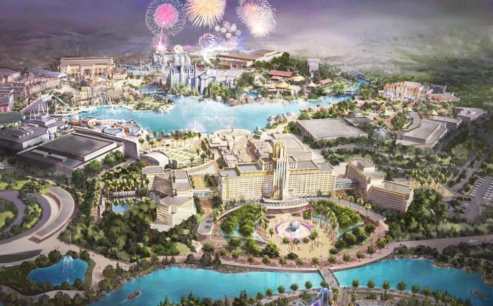 Universal inwestuje w park tematyczny w Chinach