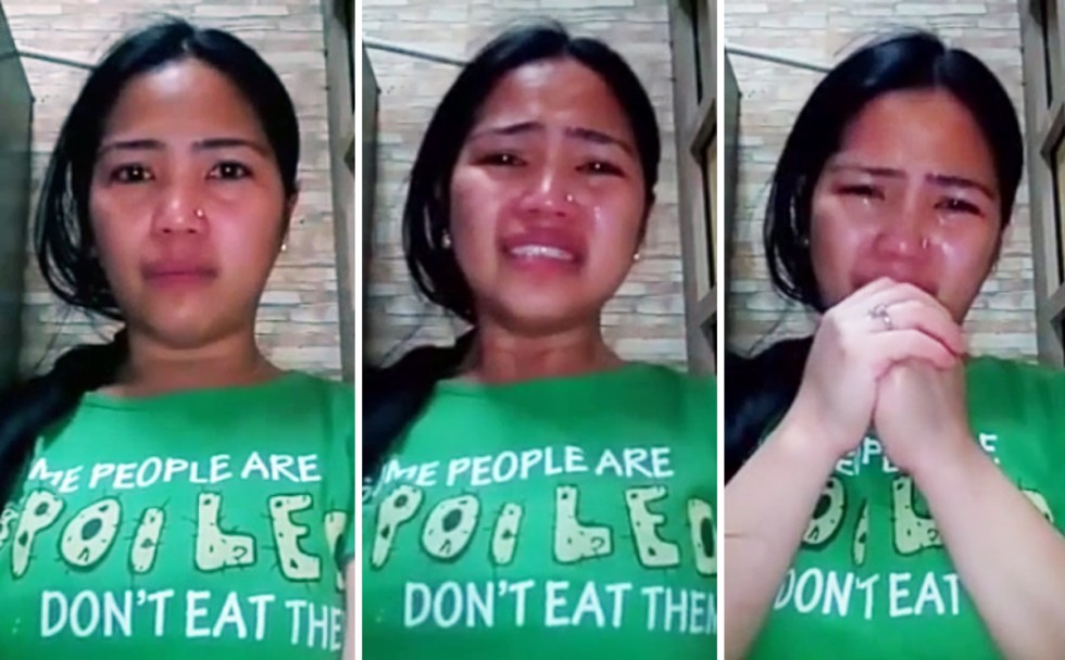 Filipina facial video